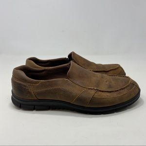 Propet Men's Brown Slip On Shoes Size 10
